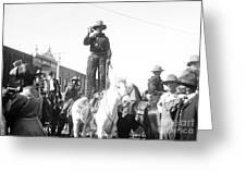 Kansas: Cowboy, C1908 Greeting Card