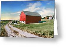 Kansas Landscape II Greeting Card