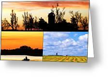 Kansas Scenes Greeting Card
