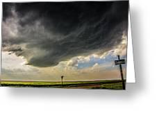 Kansas Storm Chasing 008 Greeting Card