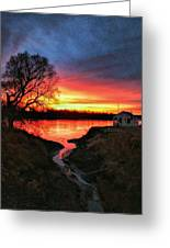 Kansas Sunrise Greeting Card