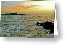 Kaohikaipu Island Sunrise  658 Greeting Card