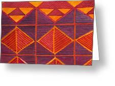 Kapa Patterns 6 Greeting Card