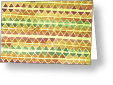 Kapa Patterns 9 Greeting Card