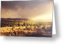 Karanja Dreamy Outback Landscape Greeting Card