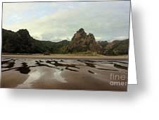 Karekare Beach Greeting Card