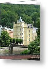 Karlovy Vary 1 Greeting Card