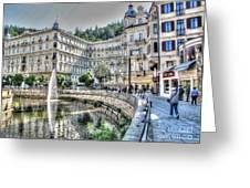 Karlovy Vary Chehia Greeting Card