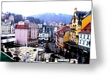 Karlovy Vary Cz Greeting Card