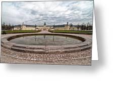 Karlsruhe Palace View Greeting Card