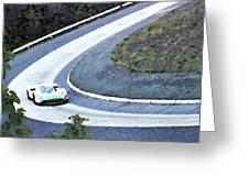 Karussell Porsche Greeting Card