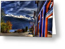 Kaslo At Kootenai Lake Greeting Card