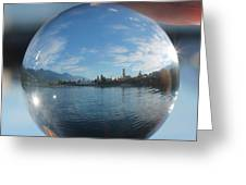 Kaslo Through The Looking Glass Greeting Card