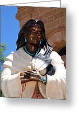 Kateri Tekakwitha Santa Fe Greeting Card