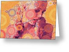 Katya (strange Brew) Greeting Card
