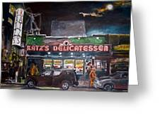 Katz Deli Greeting Card
