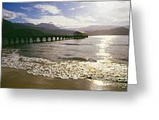 Kauai, Hanalei Bay Greeting Card