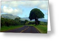 Kauai Road Greeting Card