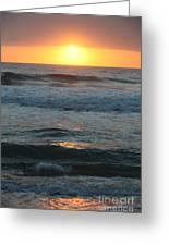 Kauai Sunrise Greeting Card