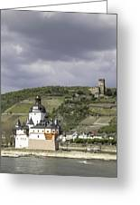 Kaubs Two Castles Greeting Card