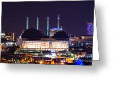 Kauffman Center And Bartle Hall Sky Stations Greeting Card