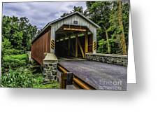 Kaufman Covered Bridge - Pa Greeting Card