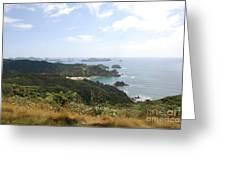 Kauri Cliffs Golf 2 New Zealand Greeting Card