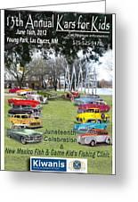 Kawanis Event Poster Greeting Card