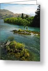 Kawerau River Greeting Card