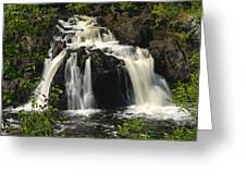 Kawishiwi Falls Greeting Card
