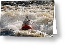 Kayak 5 Greeting Card