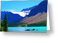 Kayak Heaven Greeting Card