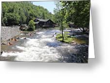 Kayak Practice Waters Greeting Card