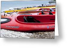 Kayak Ready Greeting Card