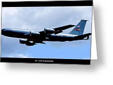 Kc-135r Stratotanker Poster Greeting Card