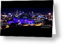 Kc Skyline 2015-9850b Greeting Card