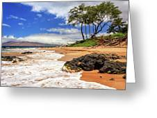Keawakapu Beach - Mokapu Beach Greeting Card