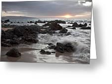 Keawakapu Kahaulani Dew Of Heaven Maui Hawaii Greeting Card