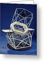 Keck Observatorys Ten Meter Telescope Greeting Card