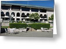 Keeneland Racetrack Grandstand Greeting Card