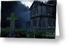 Keepers Of The Manor  Greeting Card
