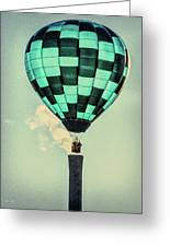 Keeping Warm As You Float Greeting Card