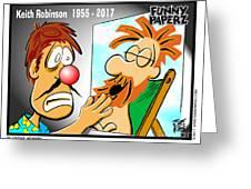 Keith Robinson - In Memoriam Greeting Card