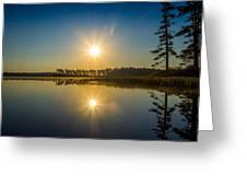 Kejimkujik Dawn Greeting Card