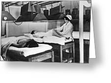 Kellogg's Michigan Sanitarium Greeting Card
