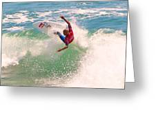 Kelly Slater  Us Open Of Surfing 2012     7 Greeting Card