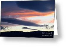 Kelowna Sunset 2 Greeting Card
