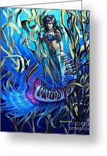 Kelp Mermaid Greeting Card