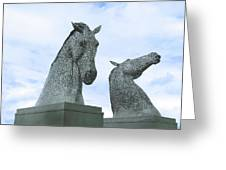 Kelpies Greeting Card