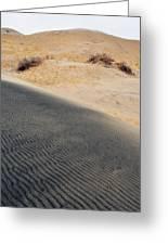Kelso Dunes Portrait Greeting Card